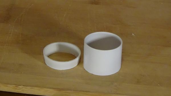 Cut PVC