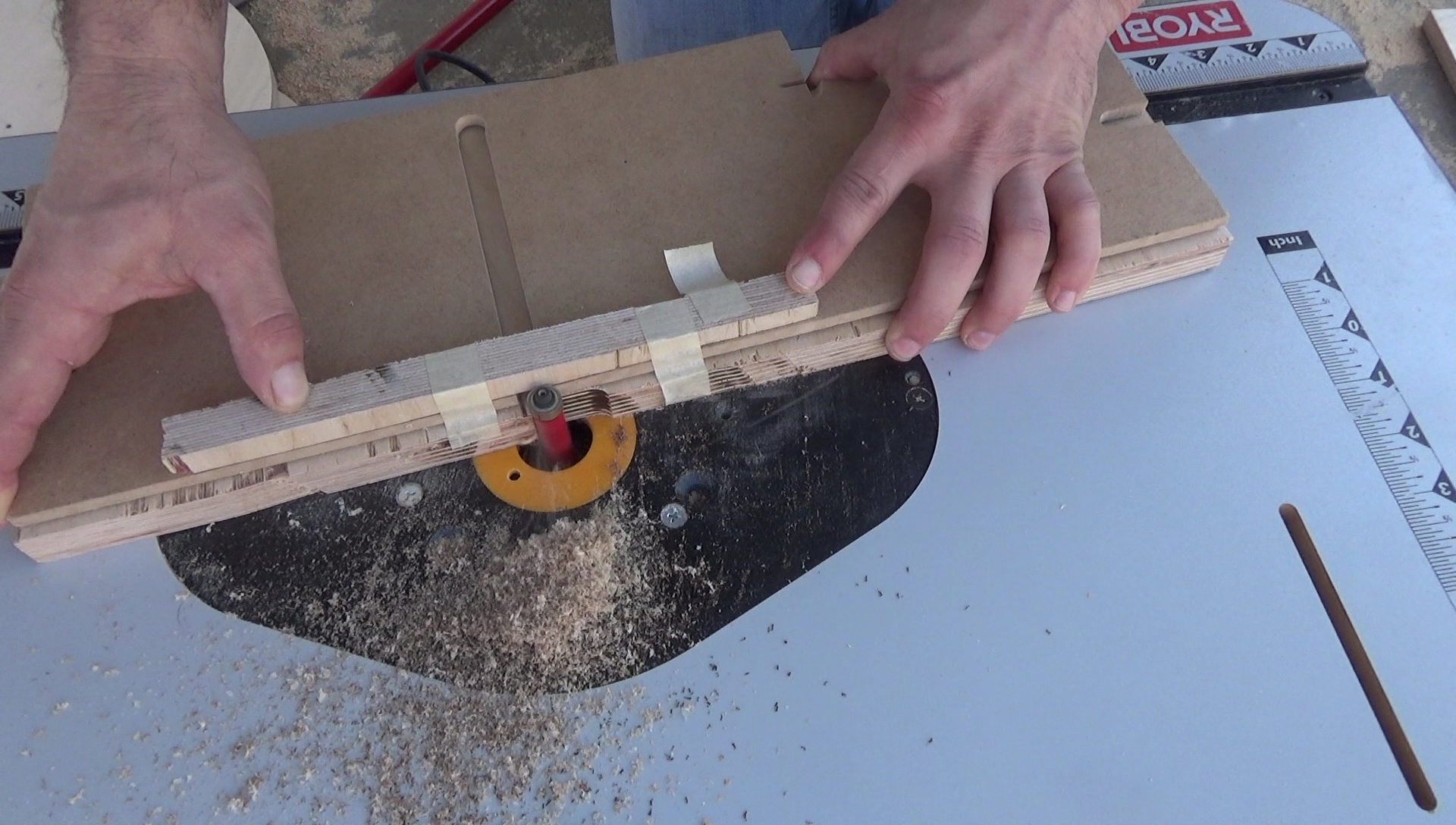 Stick blocks cutting