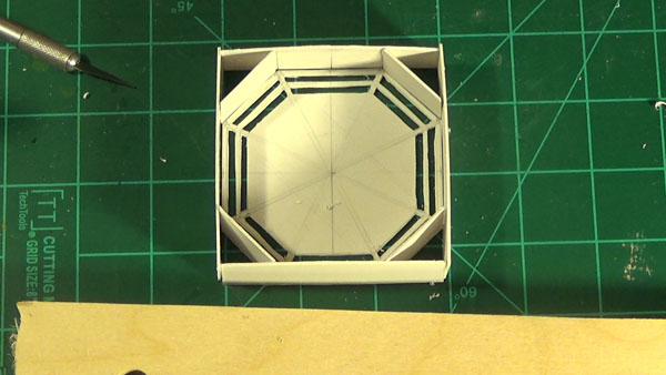 octagon box without the face