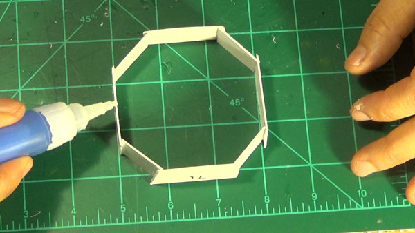 Outer octagon port box