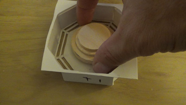 Center circles for the octagon port.