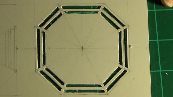Octagon port base