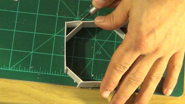 Trimming octagon port box